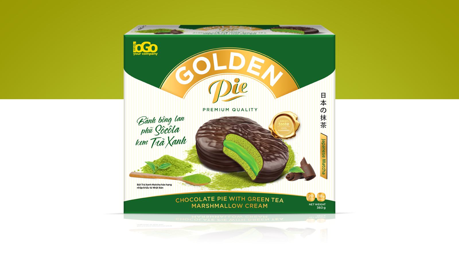 Chocopie – Packaging