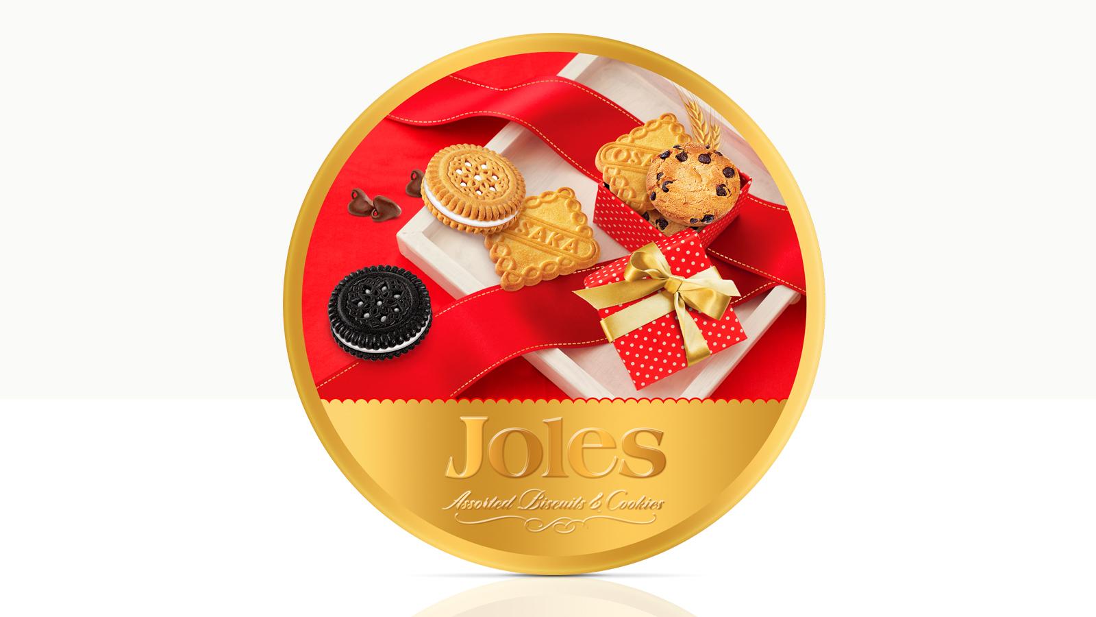 Joles biscuits – Packaging