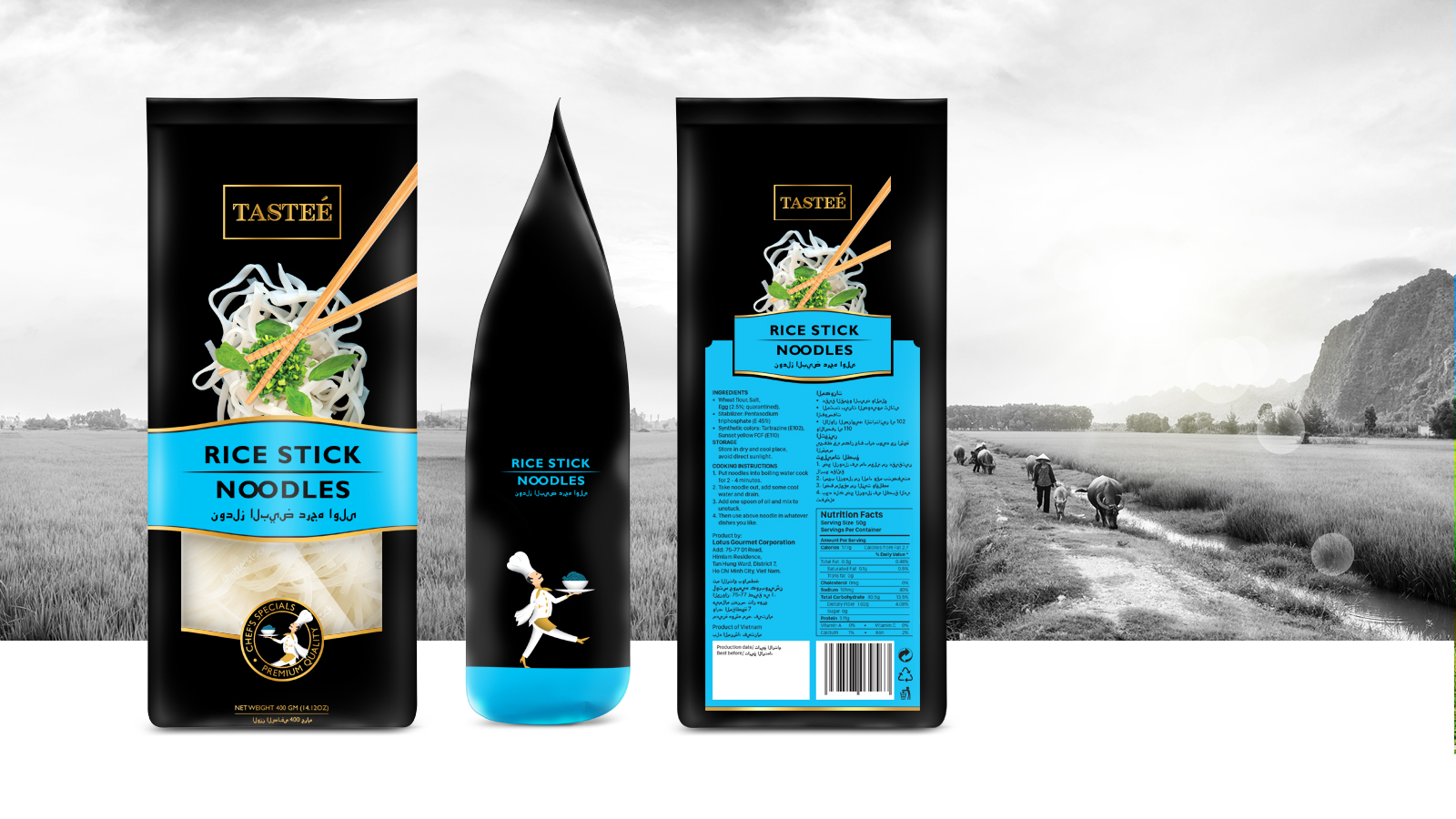 Tasteé – Packaging