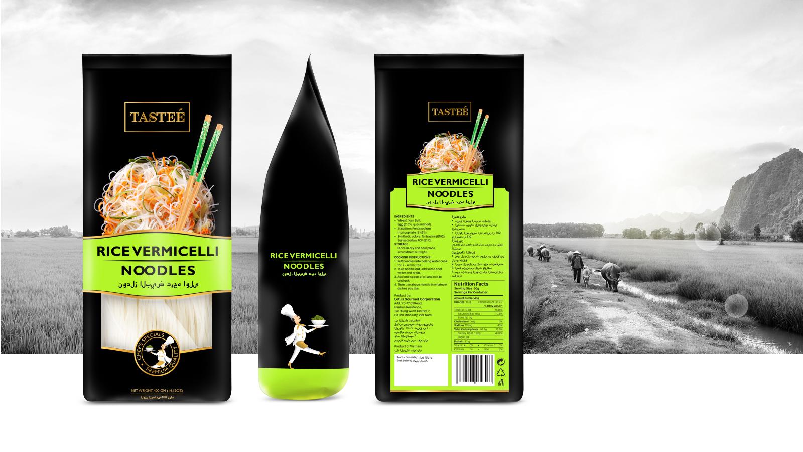 Tasteé – Packaging